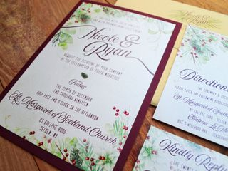 Red Letter Day Invitations & Design 5