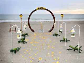 Florida Sunset Beach Wedding 2