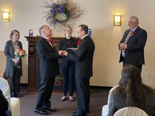 At last! - Cindy Zito Officiant 1