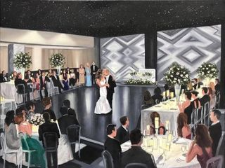 Artistic i Wedding - Live Painting 3