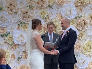Stephen David Dym Wedding Officiant with WED in NYC 3