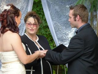 IL Wedding Officiant, Rev Pamela & Pine Manor Chicago 2