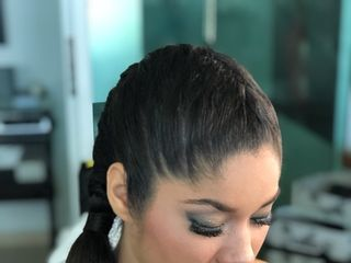 Lizzie Ibarra Hair & Airbrush Make-up Artist 5