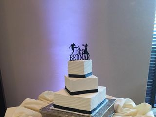 """I Do"" Wedding Cakes 1"