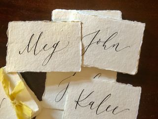 Audrey Marie Calligraphy 1