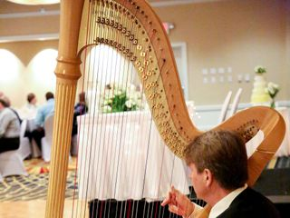 Harpist Louis Lynch 1