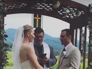 Rev Alex Zuber, Wedding Officiant 1