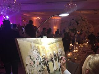 Artistic i Wedding - Live Painting 5