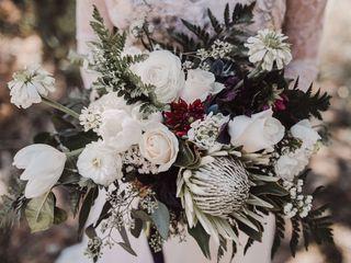 Ardent Rose Floral Design 2