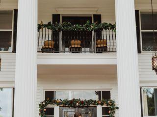 Victoria Belle Mansion and Vintage White Barn 6