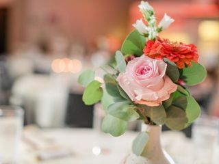 Lace and Peonies Floral Design 4