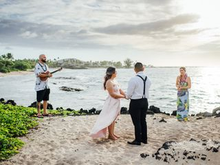 Simple Kona Beach Weddings 4