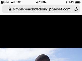 Simple Beach Wedding 6