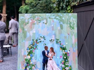 Julia McNally Fine Art & Live Event Painting 5