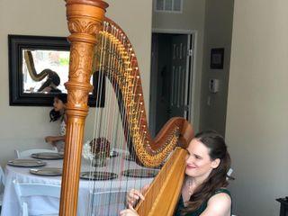 Las Vegas Wedding Harpist 2