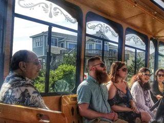 OBX Wedding Trolley 1