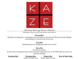 Kaze Restaurant 1