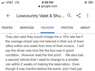 Lowcountry Valet & Shuttle Co. 2