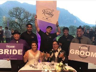 Team Bride Team Groom Hawaii 3