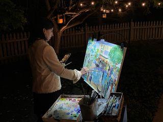 Patricia Bennett, Live Event Painter 1