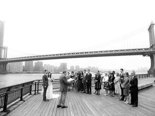 Stephen David Dym Wedding Officiant with WED in NYC 5