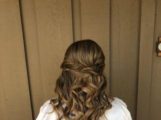 Bridal Hair by Brittany Reynolds 6