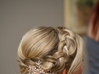 Brides On Main (on-site bridal hair and make-up) 3