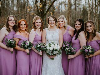 String of Pearls Wedding Flowers 2