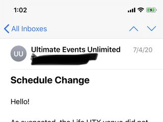Ultimate Events Unlimited 1
