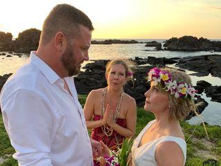 Simple Kona Beach Weddings 1