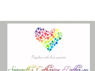 Beautiful Wedding Announcements 1