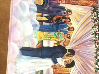 Live Wedding Painting by Mark 2