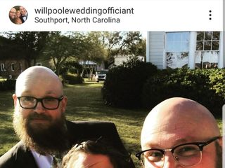 Will Poole, Wedding Officiant 1