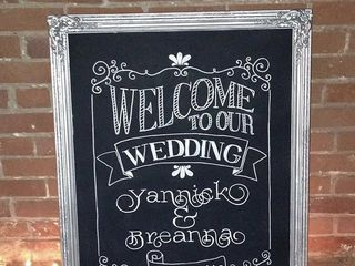 Chalkboard Sign Rentals in Charlotte NC 1