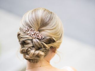 Wedding Hair by Mollie Monthie Radden 3