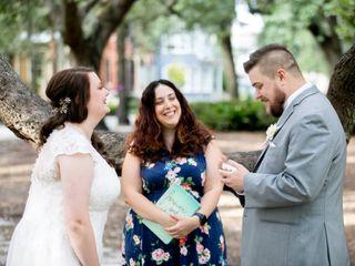 Tracy Brisson, Wedding Officiant - Savannah Custom Weddings & Elopements 2