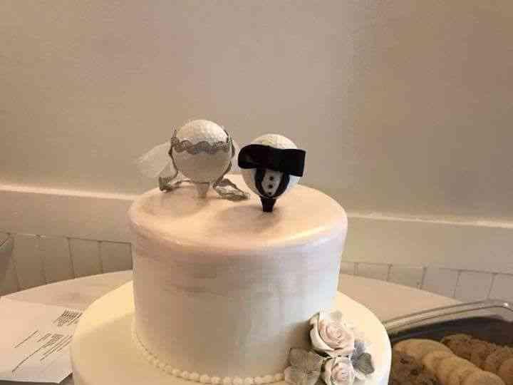 Astonishing Indy Cakes Wedding Cake Indianapolis In Weddingwire Birthday Cards Printable Inklcafe Filternl