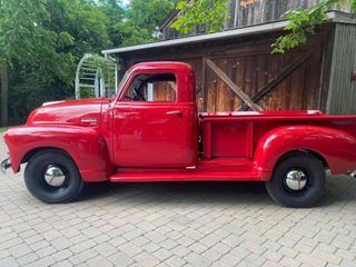 The Old Red Truck 1