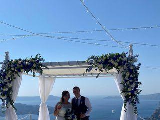 Gold Weddings Santorini-Gold Weddings Global 1