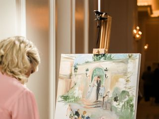 Live Event Portrait Artist Ann Bailey 4