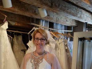 Bride & Gown 1