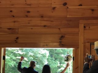 Gatlinburg's Little Log Wedding Chapel 5