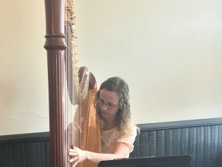 Brittany Burns, Harpist 4