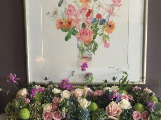 Buffalo Floral Art 3