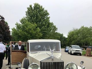Classic Wedding Car 5