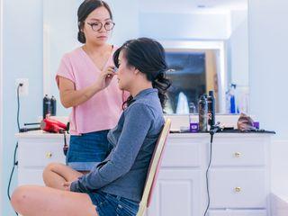 Sarah Ahn Bridal Hair 2