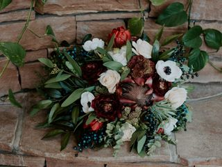 Compass Rose Floral 2