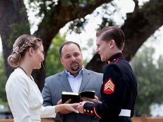 Coastal Elopement wedding officiant 1
