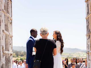Cheryl Bariel Officiant, Bella Wedding Day 2