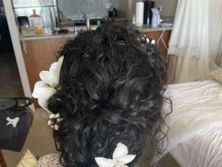 Wedding Hair Maui Style 2
